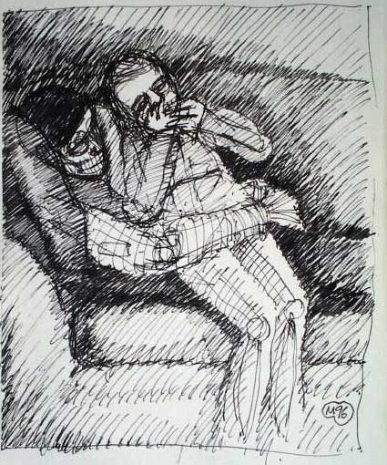 Drawing – Sketchbook studies 1996 – 98